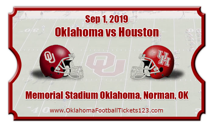 Oklahoma Sooners vs Houston Cougars Football Tickets | 09 ...