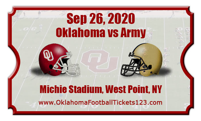 Oklahoma Sooners vs Army Black Knights Football Tickets ...