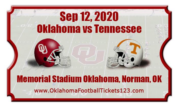 Oklahoma Sooners vs Tennessee Volunteers Football Tickets ...